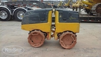Front of Used Bomag Trench Roller for Sale