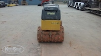 Back of Used Bomag Trench Roller for Sale