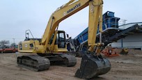 Side Front of Used Excavator for Sale