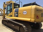 Close up of Used Komatsu Excavator for Sale
