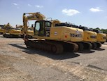 Used Komatsu Excavator ready for Sale in yard