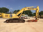 Side of Used Komatsu Excavator for Sale