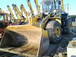 Used Komatsu Wheel Loader in yard for Sale