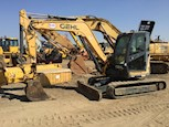 Side of Used Gehl Compact Excavator for Sale