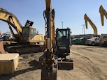 Front of Used Gehl Compact Excavator