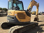 Side Back of Used Compact Excavator for Sale