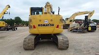 Back of Used Komatsu Excavator for Sale