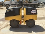 Side of Used Bomag Compactor for Sale