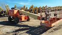 Front of Used JLG Work Platform in Yard for Sale