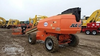 Back Side of Used JLG in Yard for Sale