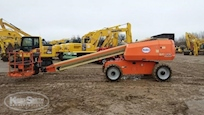 Side of Used JLG Telescopic Boom Lift for Sale