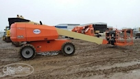 Side of Used Telescopic Boom Lift for Sale