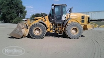 Side of Used Kawasaki Loader for Sale