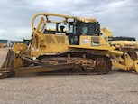 Side of Used Crawler Dozer under cloudy sky for Sale
