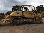 Side of Used Komatsu Crawler Dozer for Sale
