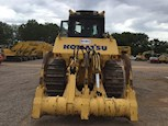 Back of Used Komatsu Dozer for Sale
