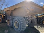 Back of Used Articulated Dump for Sale