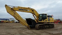 Front Side of Used Komatsu Excavator for Sale