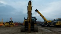 Front of Used Komatsu Crawler Excavator for Sale