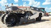 Side of Used Wirtgen Paver under blue sky for Sale