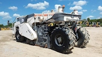 Back of Used Wirtgen Paver for Sale