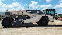 Side of Used Wirtgen Asphalt Paver for Sale