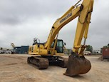 Side Front of Used Crawler Excavator for Sale
