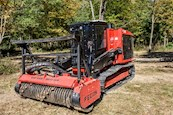 New Fecon Mulching Tractor near woods
