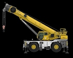 Side of new Grove Crane for Sale
