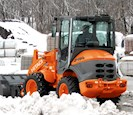 New Loader moving snow