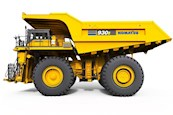 Side of New Komatsu Electric Dump Truck for Sale