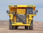 Front of New Electric Drive Mining Truck for Sale