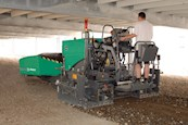 New Vogele Super Series Paver at Work
